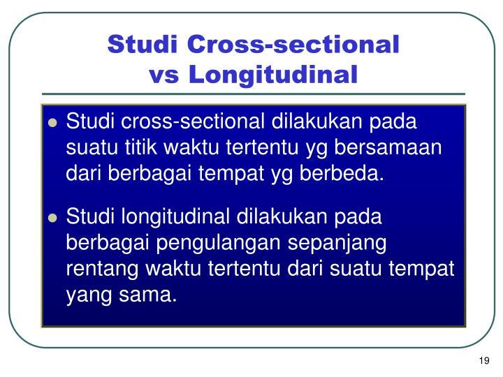 Studi Cross-sectional