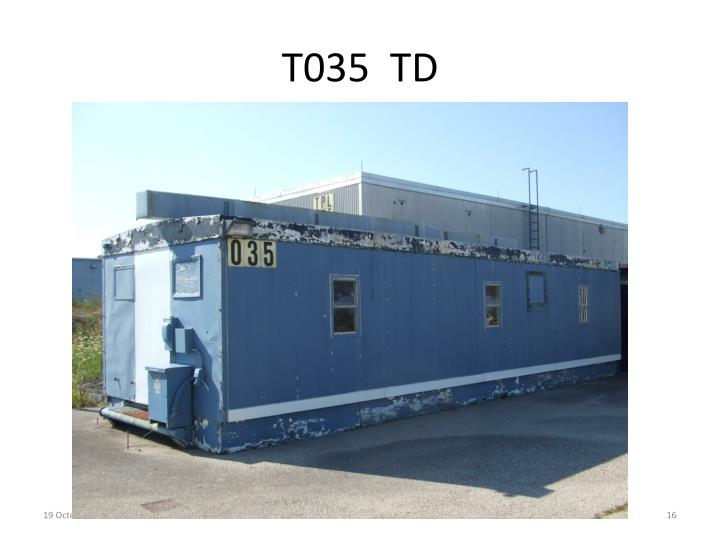 T035  TD