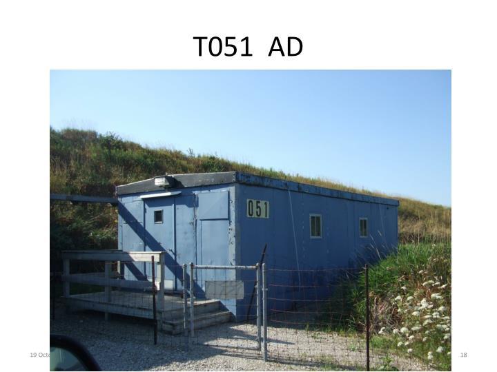 T051  AD