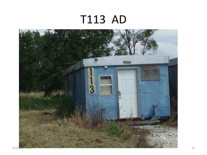 T113  AD