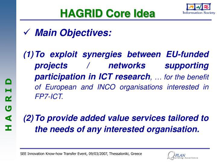 HAGRID Core Idea