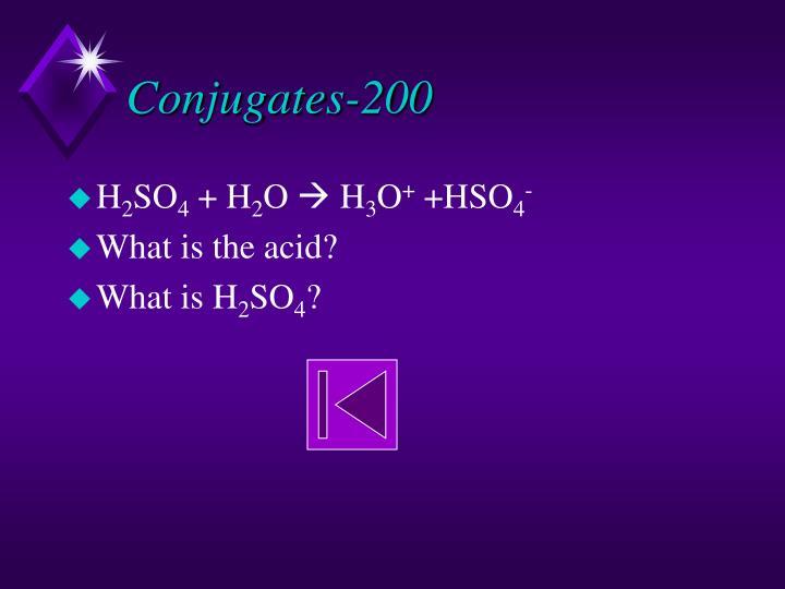 Conjugates-200