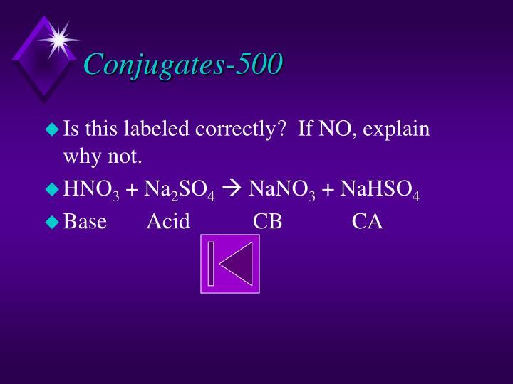 Conjugates-500
