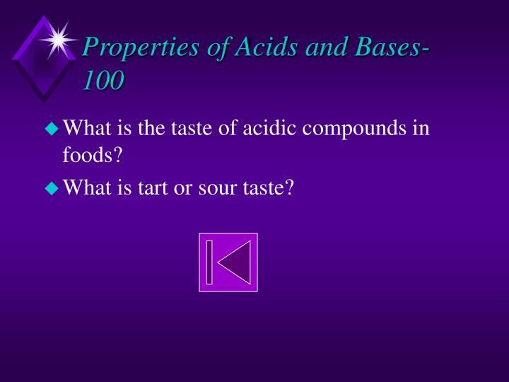 Properties of Acids and Bases-100