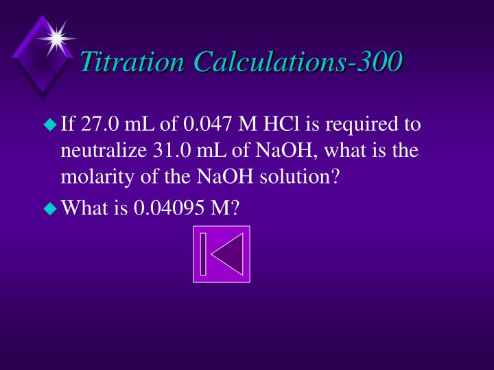 Titration Calculations-300