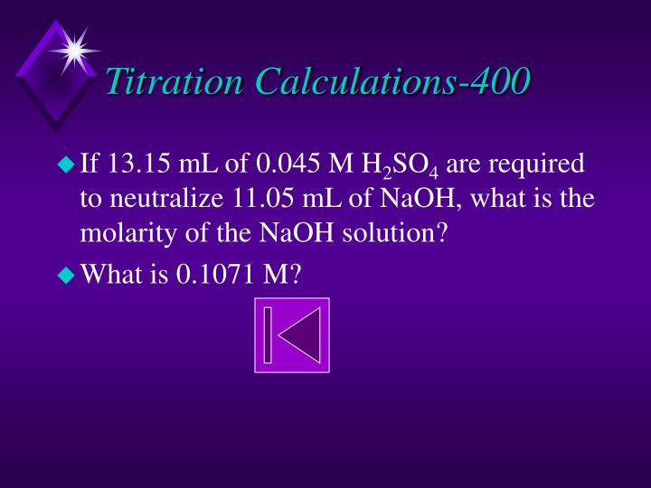 Titration Calculations-400