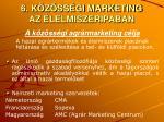 6 k z ss gi marketing az lelmiszeripaban