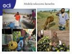 mobile telecoms benefits
