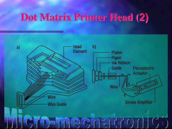 Dot Matrix Printer Head (2)