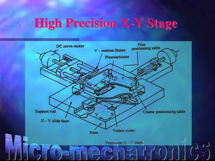 High Precision X-Y Stage