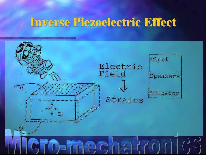 Inverse Piezoelectric Effect