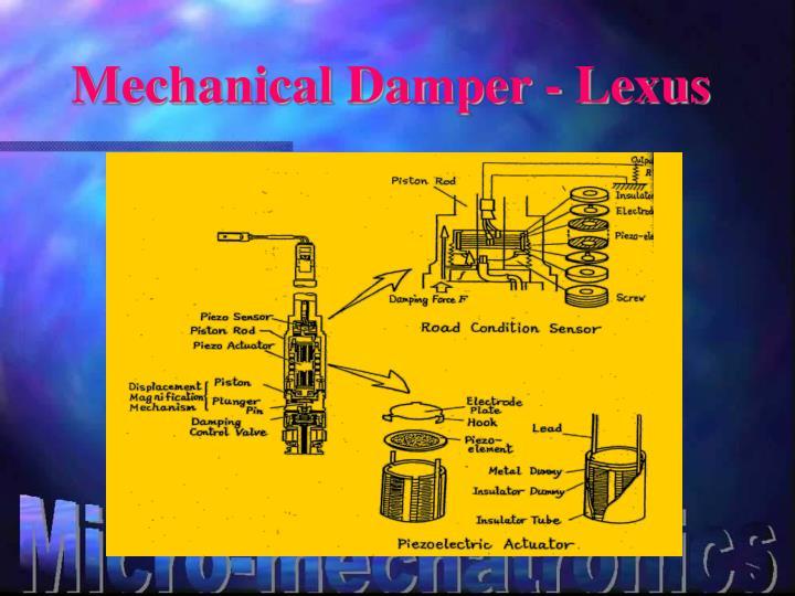 Mechanical Damper - Lexus