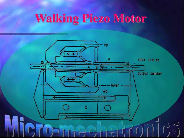 Walking Piezo Motor