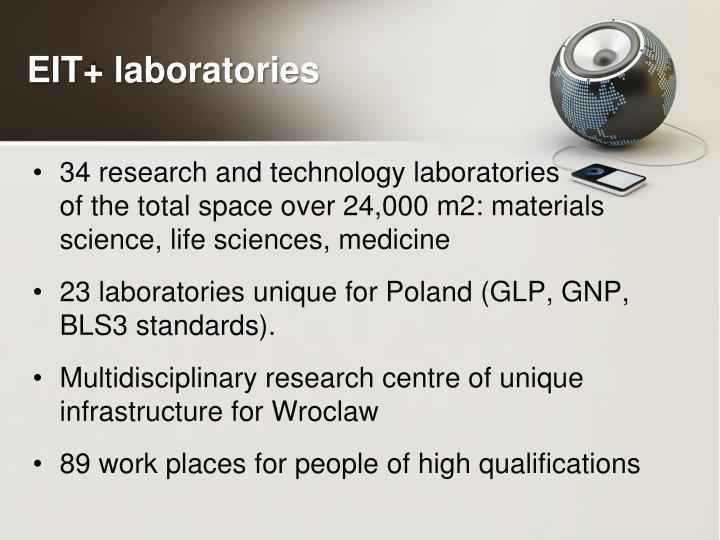 EIT+ laboratories