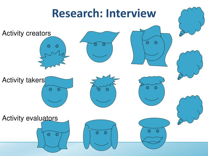 Research: Interview