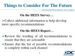 things to consider for the future1