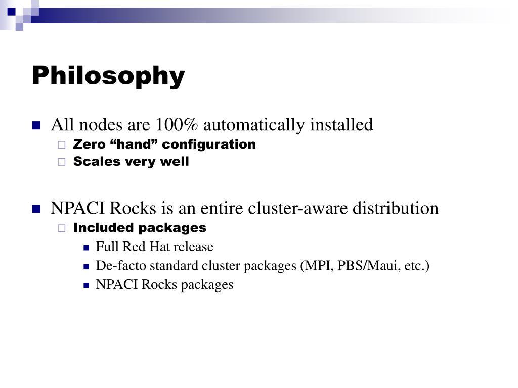 PPT - NPACI Rocks Tutorial PowerPoint Presentation - ID:5077534