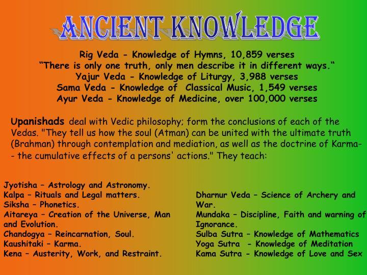 Rig Veda - Knowledge of Hymns, 10,859 verses