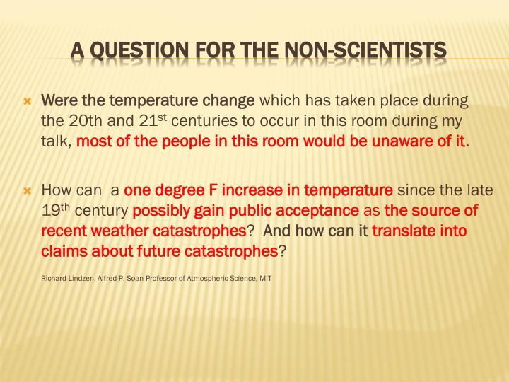 Were the temperature change