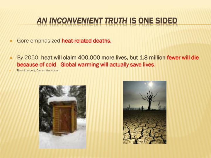 Gore emphasized