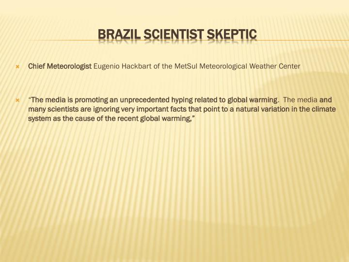 Chief Meteorologist