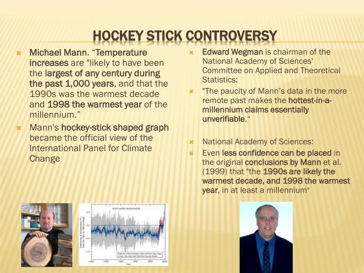 Hockey stick controversy