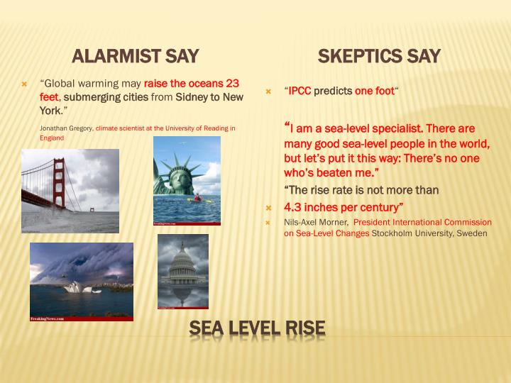 Alarmist say