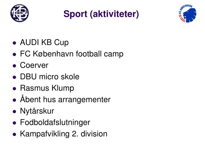 Sport (aktiviteter)