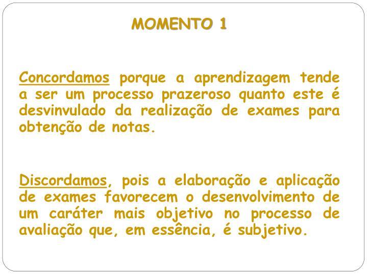 MOMENTO 1