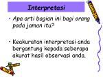 interpretasi