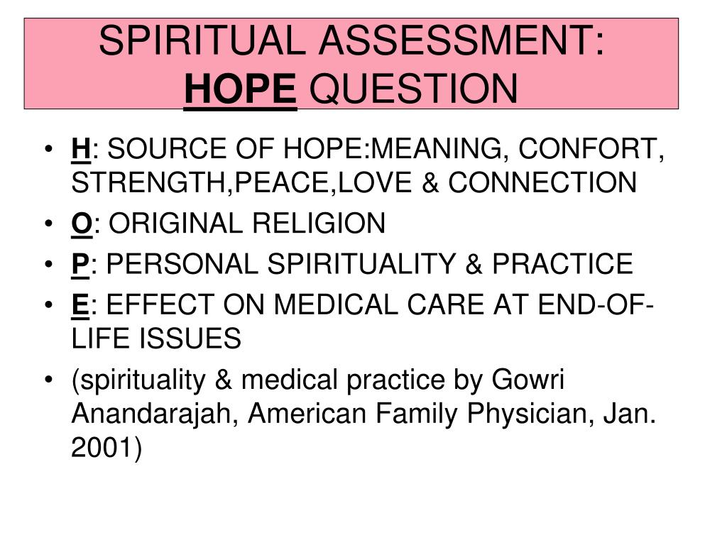 PPT - SPIRITUAL DIMENSION OF THE TERMINALLY ILL PowerPoint