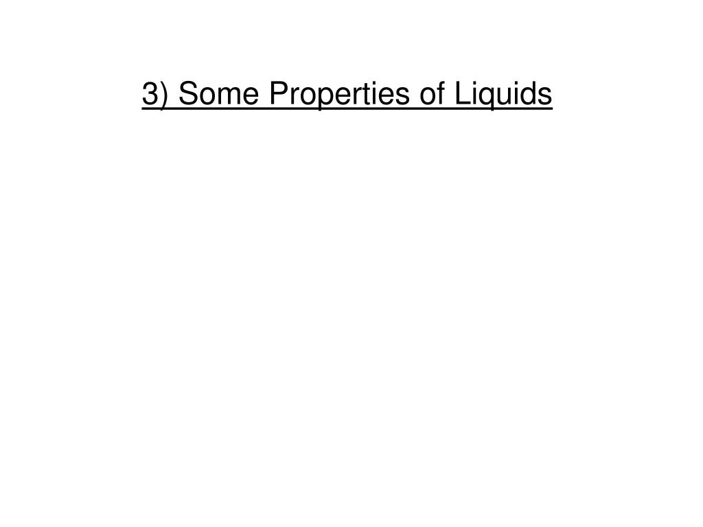 PPT - Intermolecular Forces, Liquids, and Solids PowerPoint