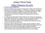 urban think tank http www u tt com