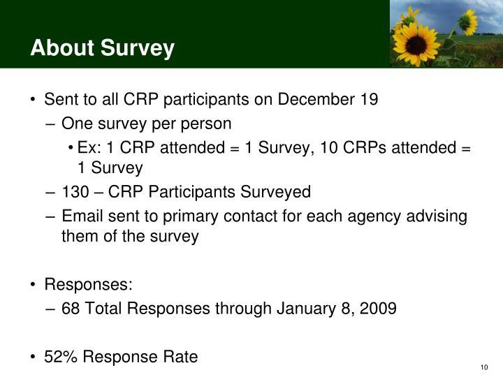 About Survey