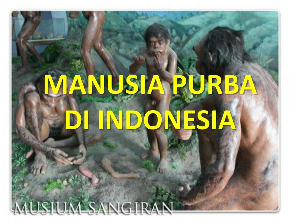 Ppt Manusia Purba Di Indonesia Powerpoint Presentation Id 5079251
