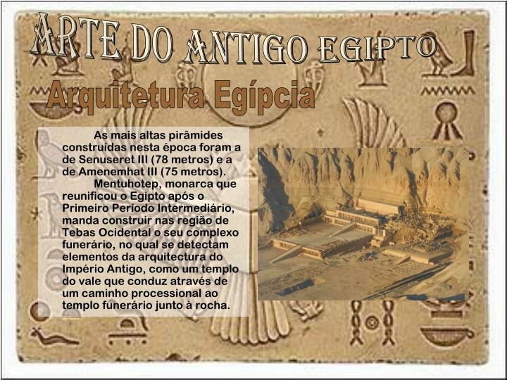 Arte do antigo egipto