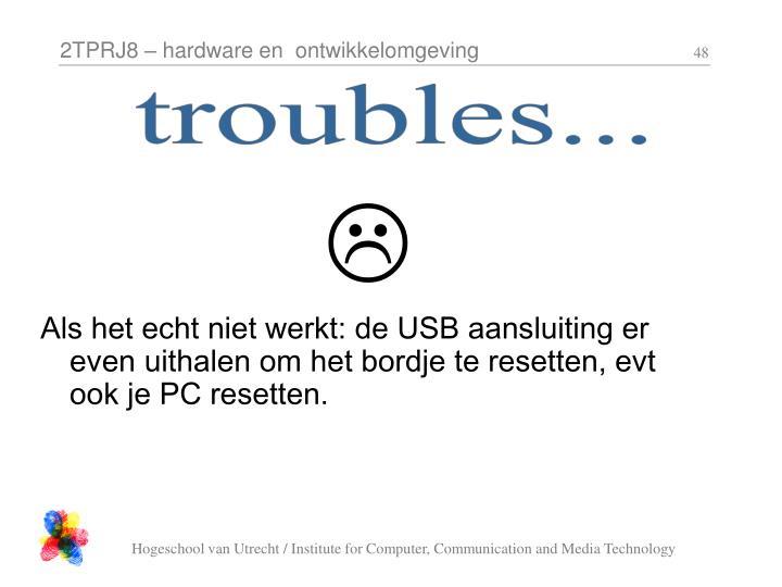 troubles...