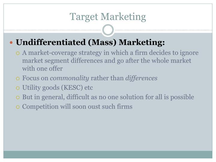 target market coverage