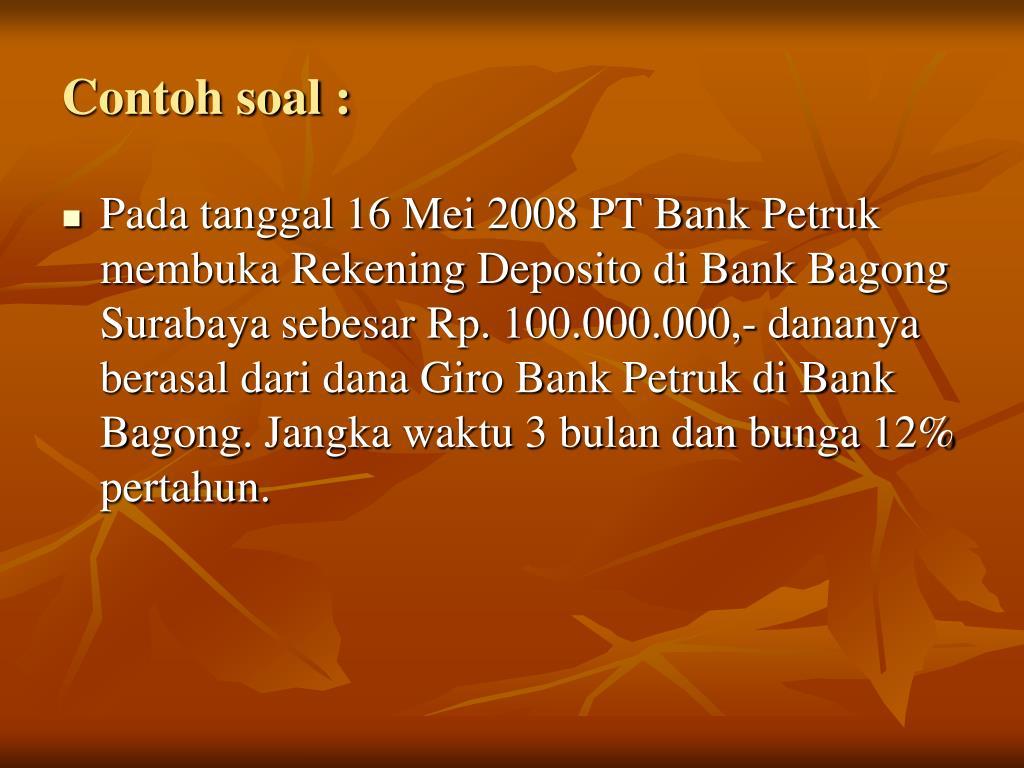 Ppt Simpanan Dari Bank Lain Powerpoint Presentation Free Download Id 5079577