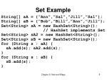 set example