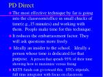 pd direct