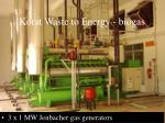 korat waste to energy biogas1