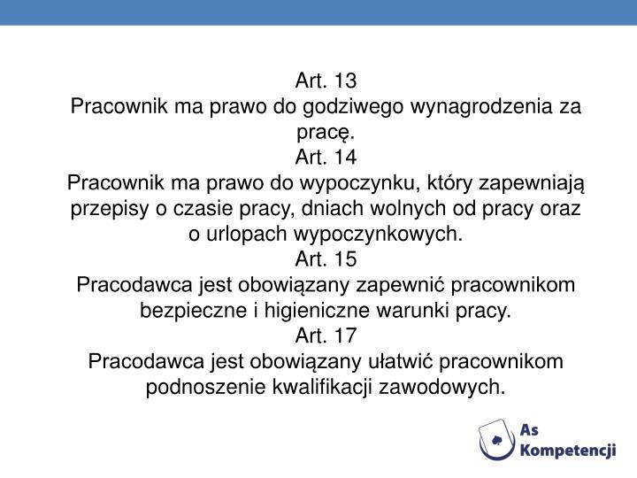 Art. 13