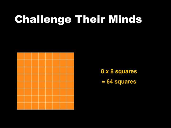 8 x 8 squares