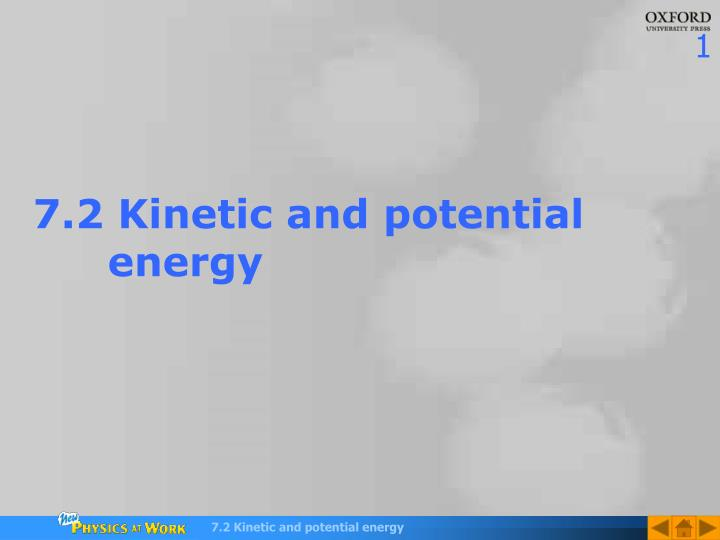 7 2 kinetic and potential energy n.