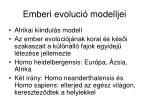emberi evoluci modelljei1