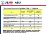 successful implementation of dsm in thailand