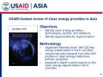 usaid funded review of clean energy priorities in asia