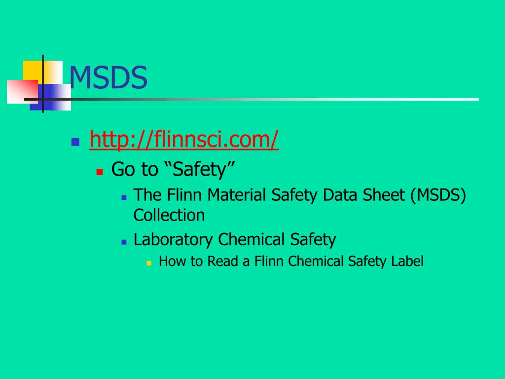 PPT - Safety in the Science Classroom PowerPoint Presentation - ID