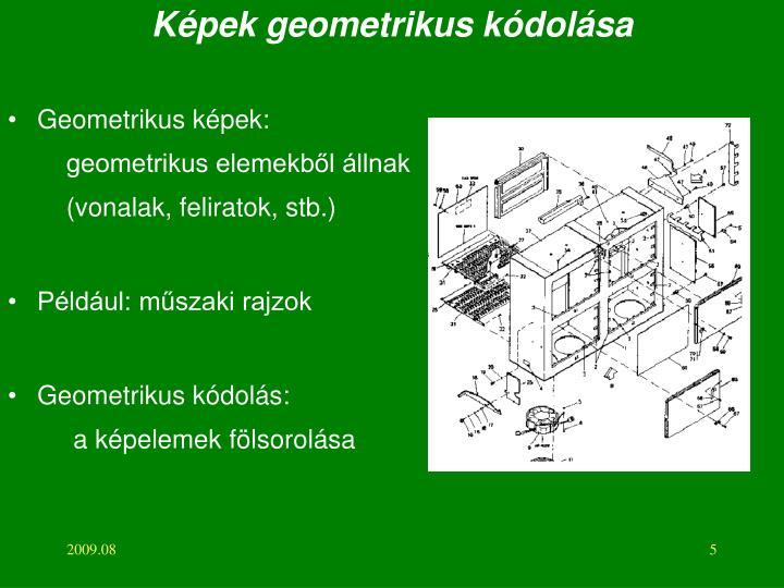 Képek geometrikus kódolása